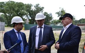Глава ГАСК позитивно оценил строительные объекты компании «Альянс Новобуд»