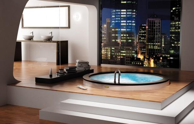 Идеи оригинального оформления ванной комнаты