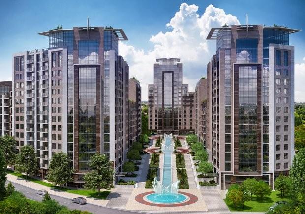 Инновационная концепция City Resort от премиального «Бульвара Фонтанов».