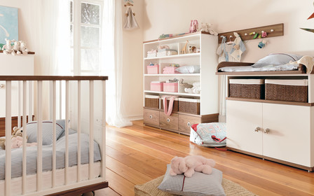 Как обставить комнату новорожденного
