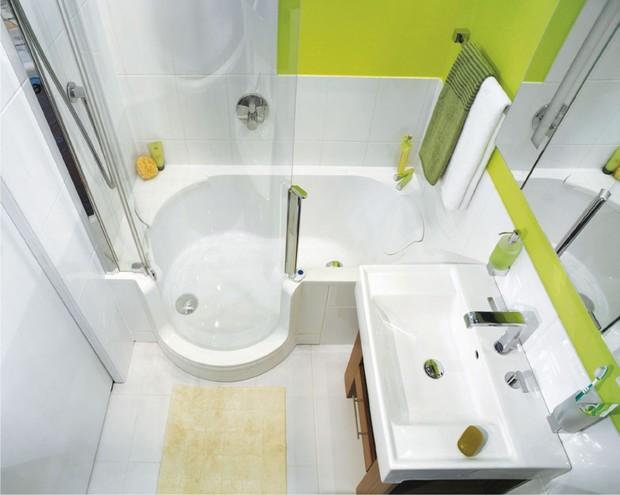 Як оформити маленьку ванну кімнату?