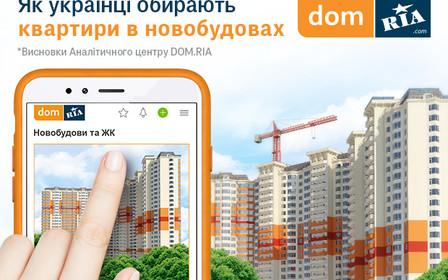 Как украинцы выбирают квартиры в новостройках. Итоги Аналитического центра DOM.RIA