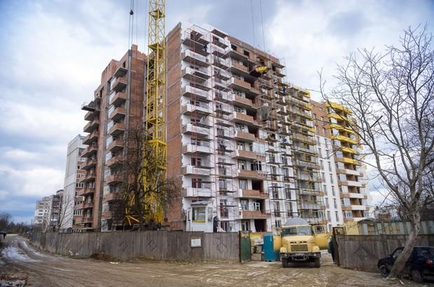 Ход строительства новостройки ЭКО-ДОМ по Орной во Львове