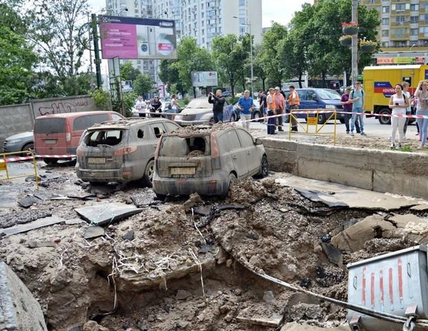 Киев: что делать, если прорвало трубу
