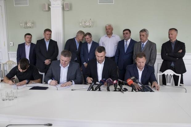 Кличко, Нацполиция и застройщики определились с правилами застройки Киева.
