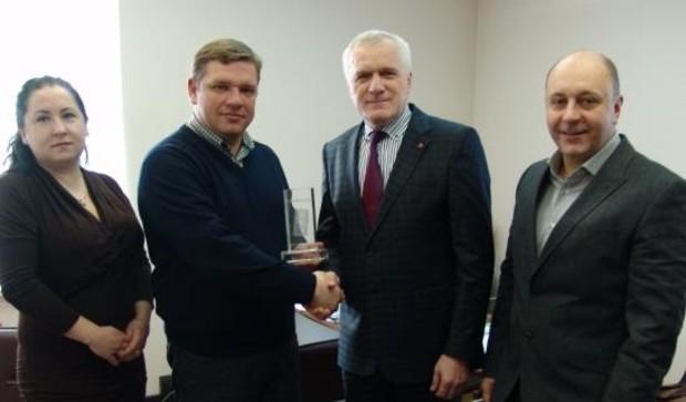 Компания «Интергал-Буд» приобрела 100-миллионный кирпич «Слобожанской строительной керамики»