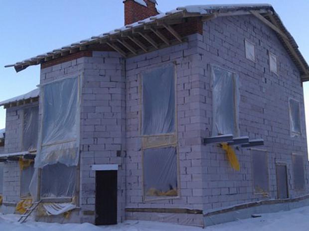 Консервация незавершенного строительства на зиму