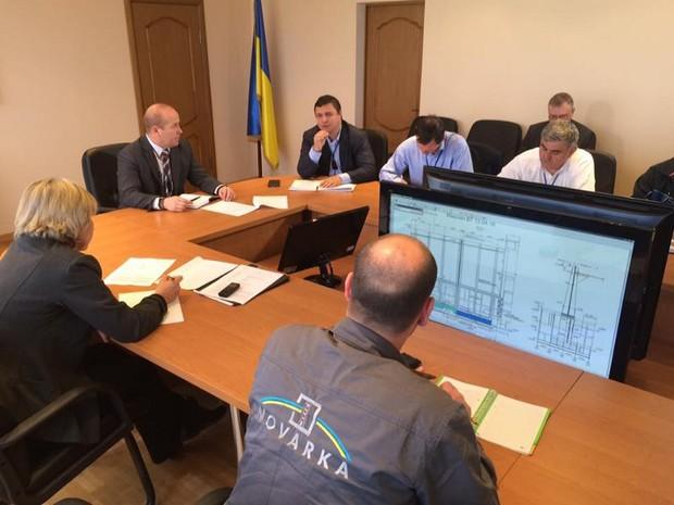Максим Микитась: работы по строительству нового укрытия двигаются по агрессивному графику.
