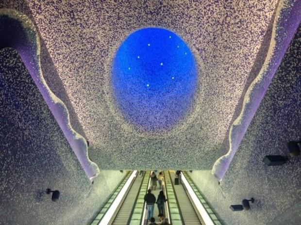 Метро как искусство: ТОП-5 самых красивых станций (фото)