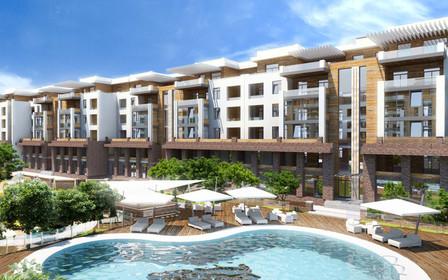 Оцените уникальный жилой комплекс «Comfort City», который находится в самом сердце Днепра,  с высоты птичьего полета
