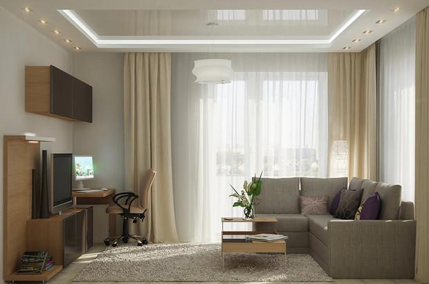 Приемы для визуального увеличения объема комнаты