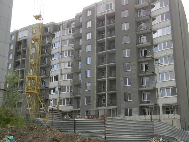 Продолжается строительство в ЖД «Dominion» по ул.  Клочковская, 101