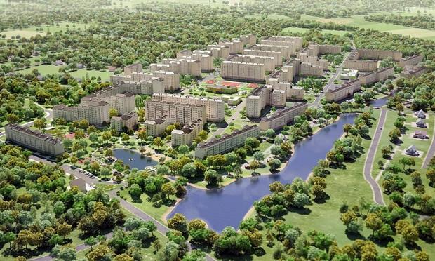 Продолжаются работы по подключению ЖК «Озерный гай Гатное» к киевской канализации