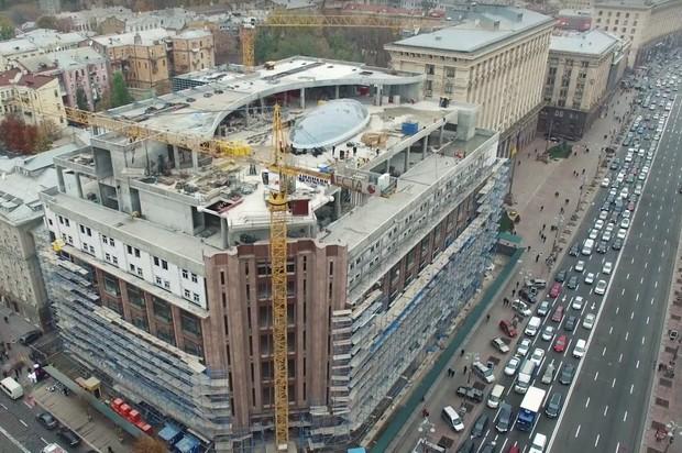 Ремонт столичного ЦУМа закончится уже в августе