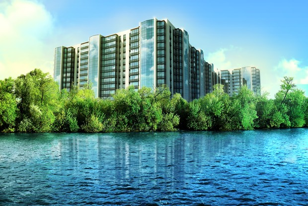 «River Park» -  Ваша мечта на берегу Днепра растет кирпич за кирпичом!