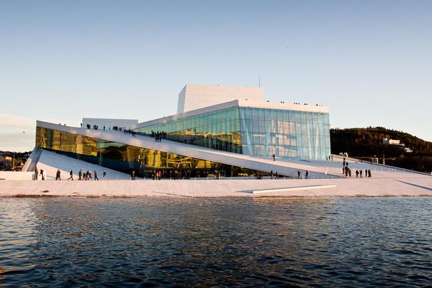 Самые красивые и необычные здания мира: Норвежский театр оперы и балета