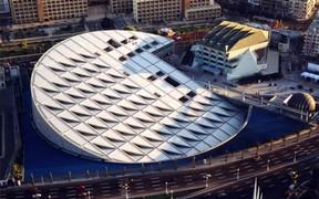 Самые красивые и необычные здания мира: Современная Александрийская библиотека, Египет