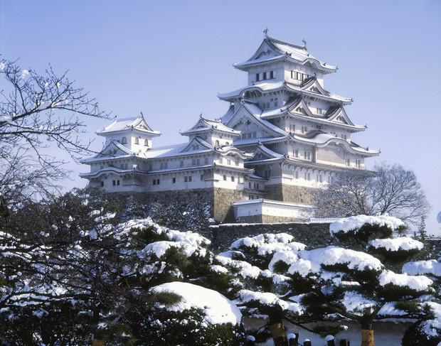 Самые красивые и необычные здания мира: замок Химедзи, Япония