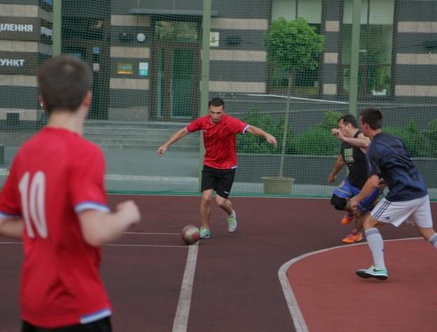 Змагання з футболу в ЖК «Престиж Холл»