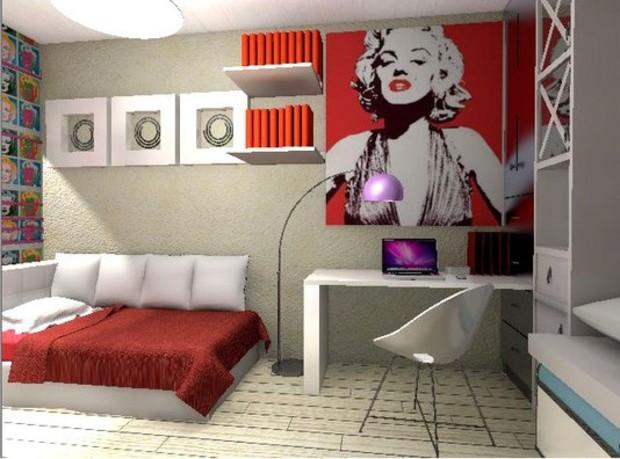 Современный интерьер в стиле поп-арт: 6 особенностей
