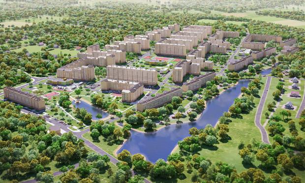 Стартуют продажи квартир в новом жилом комплексе «Озерный гай Гатное»