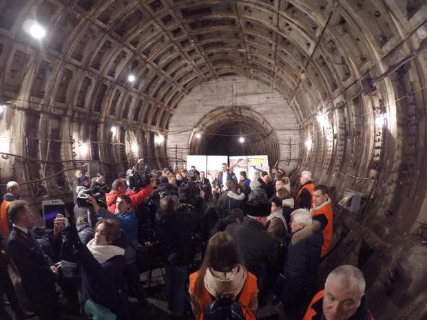 Строительство метро на Виноградарь под угрозой