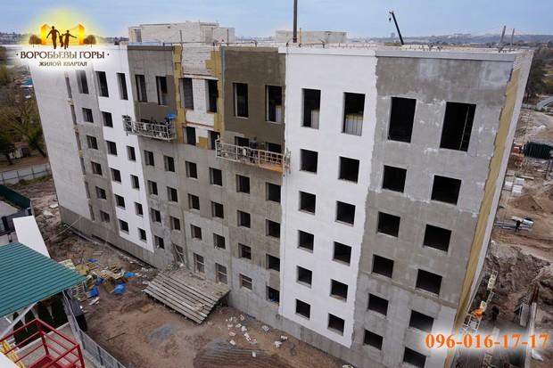 Строительство ЖК «Воробьевы горы-6» практически завершено!