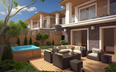 """Таунхаусы в ЖК """"Comfort City"""" – собственный дом мечты в самом центре Днепра"""