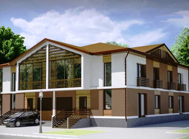 Тепми будівництва котеджного містечка Eurovillage