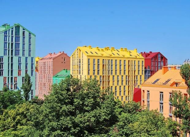 Типичная архитектура Украины