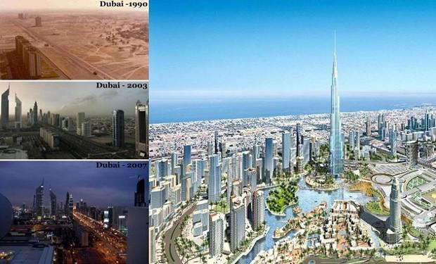 Тогда и сейчас: как менялись мегаполисы за несколько десятилетий