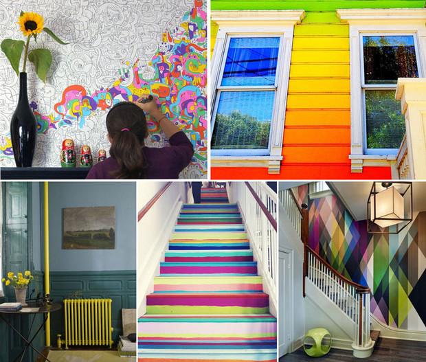 ТОП-10 способов добавить своему жилищу ярких красок