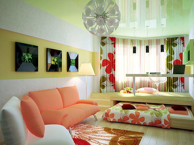 ТОП-9 примеров зонирования гостиной