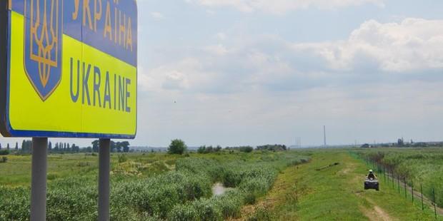 Украина начала строительство стены на границе с РФ (схема)