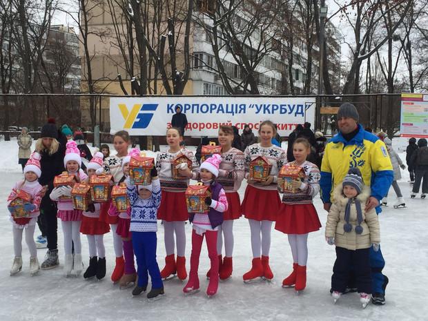 «Укрбуд» продолжает приобщать киевлян к здоровому образу жизни