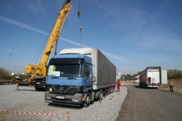 В Харьков привезли первые модульные дома для переселенцев