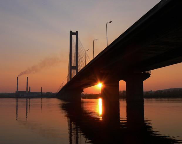 В Киеве частично перекроют движение на Южном мосту