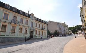 В Киеве массово реконструируют парки и Андреевский спуск