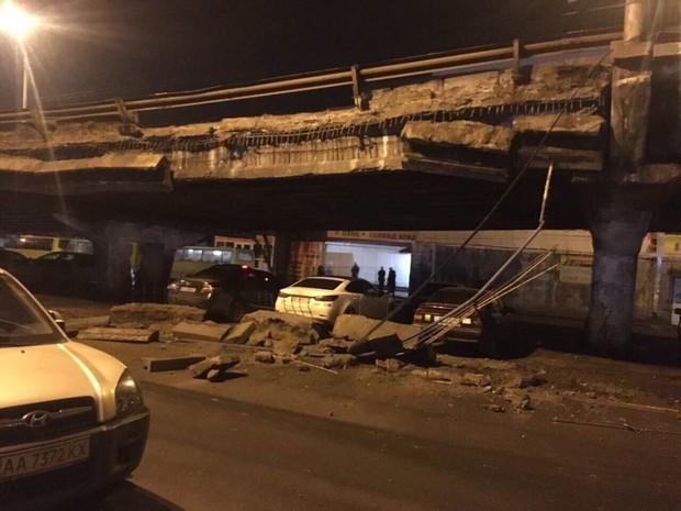 В Киеве обрушился Шулявский мост: причины и последствия