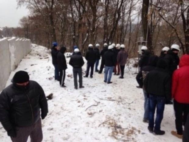 В Киеве остановили строительство ЖК, а участку присвоили статус сквера