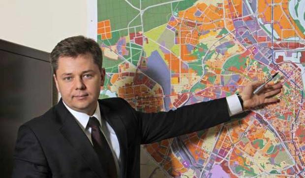 В Киеве построят два перехода через Днепр и скоростные магистрали