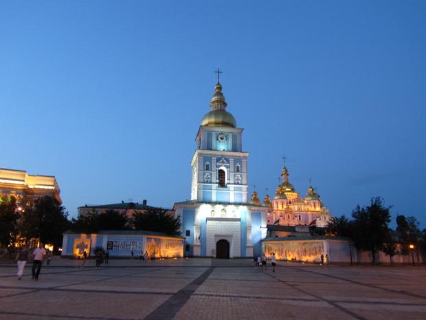 В Киеве собираются реконструировать Софийскую площадь