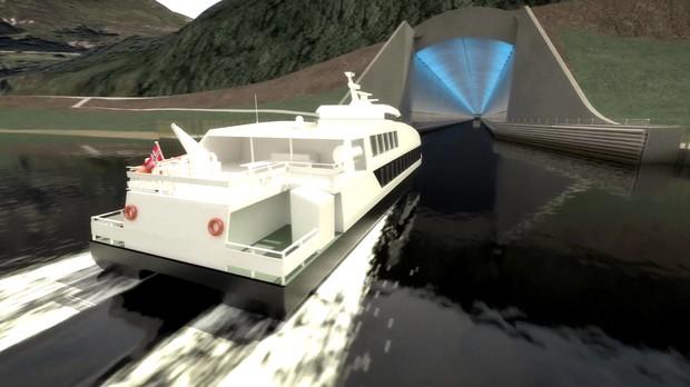 В Норвегии объявили о строительстве первого в мире подземного туннеля для кораблей