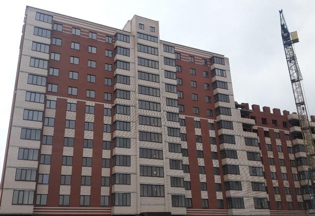 В продаже квартиры и коммерческие помещения в построенных секциях