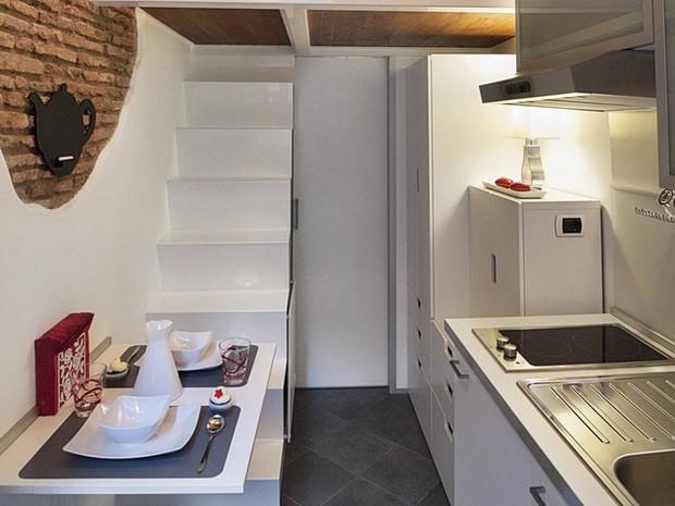 В Риме обнаружен самый маленький дом в мире (фото)