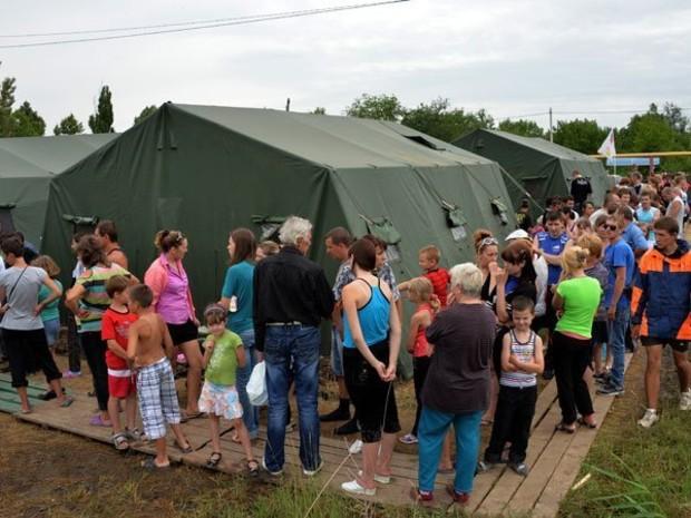 В России планируют закрыть пункты временного размещения украинских беженцев
