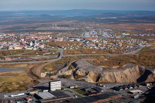 В Швеции передвинут целый город на 3 км