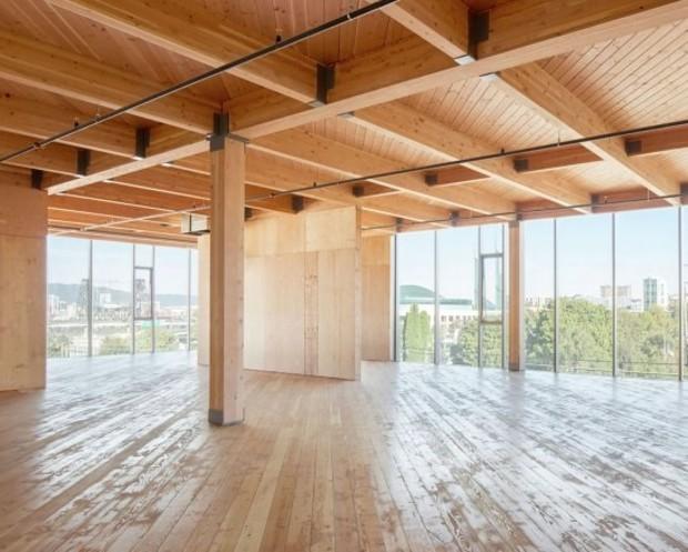 В США возведут 11-этажную высотку из дерева