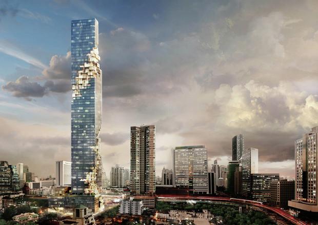 В Тайланде презентовали самый высокий небоскреб государства