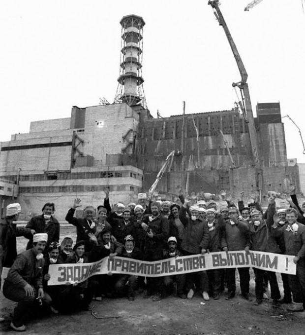 В Украине чествуют ликвидаторов чернобыльской аварии